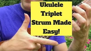 The Easy Secret to Triplet Strums! (Free songsheet)