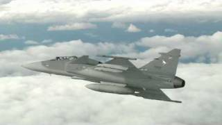 Gripen aircraft first flight with Royal Thai Air Force, Sweden