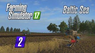 ㋡ Ryszard Ty draniu!!! ZŁODZIEJ?! ㋡ #2 - Farming Simulator 17 BALTIC SEA
