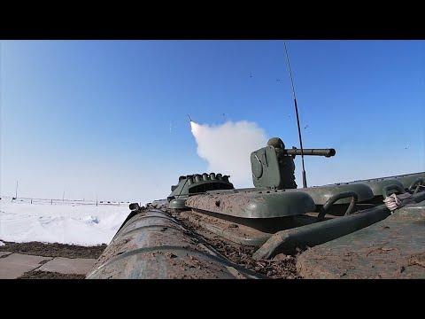 «Иглы» отразили воздушные атаки условного противника под Оренбургом — видео