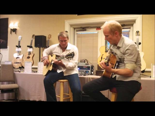 Loren and Mark acoustic guitar duo