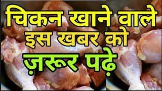 चिकन खाने वालों पहले एक बार ये विडियो जरूर देख लो।