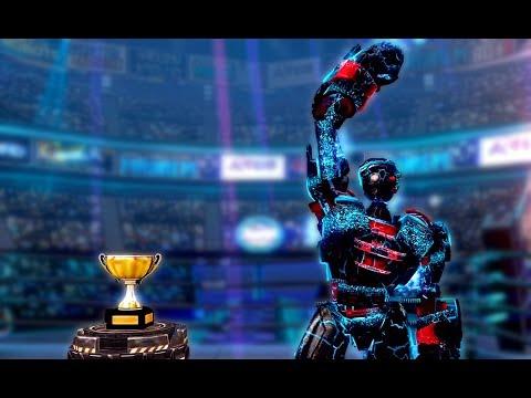 Real Steel Champions ATOM NOISY BOT - ATOMNOISY VS REGION V ROBOTS NEW ROBOT(Живая Сталь)