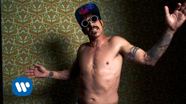red hot chili peppers  dark necessities official music video