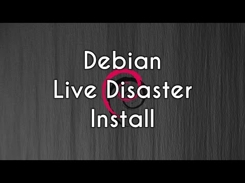 The Debian Installation   Live Stream on my Main PC!?!   Install