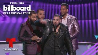 Aventura se reune en los Premios Billboard 2019 Premios Billboard 2019