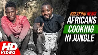 Open Fire  Chicken In Punjabi Style With African Boys (Full Video) | Latest Food Video 2018