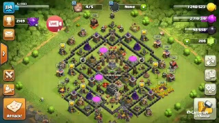Clash of clans and clash royale live!!! Come and join