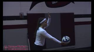 Highlights: Volleyball falls to Bentley 3 sets to 1