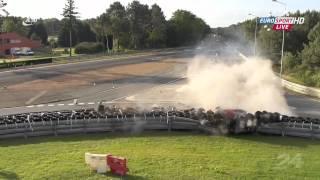 LeMans 2012 Davidson hugh Crash