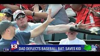 Hero Dad saves son