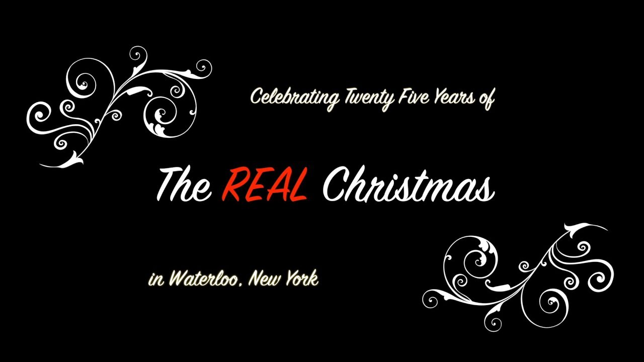 A nostalgic look back as Waterloo's Real Christmas celebrates 25 years (video)