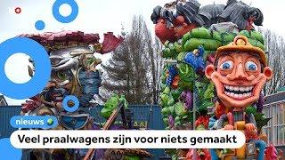 Tientallen carnavalsoptochten afgelast vanwege het weer