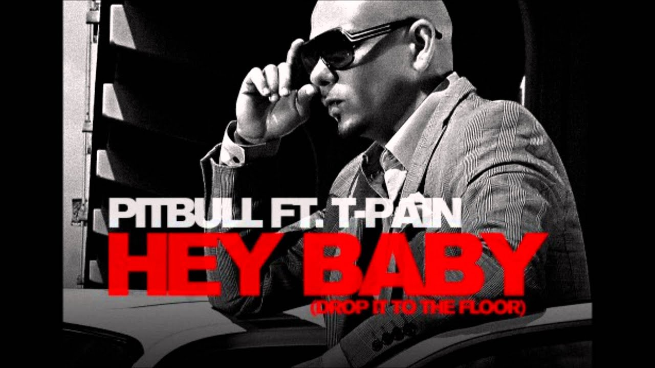 Lovely Pitbull Ft T Pain Hey Baby Instrumental   YouTube