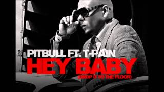 Pitbull Ft  T Pain   Hey Baby  Instrumental