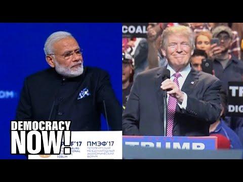 Arundhati Roy on Upcoming Meeting Between Indian PM Modi & Trump at White House