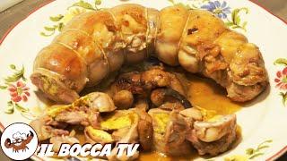 12 - Coniglio ripieno...l'appetito un' ha freno (secondo di carne facile e sfizioso tipico toscano)