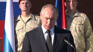 Владимир Путин посетилавиабазу Хмеймим вСирии