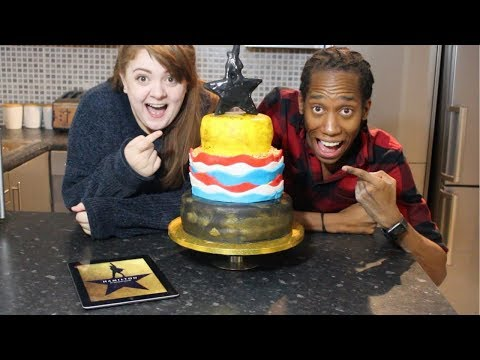 HAMILTON Musical Cake feat. Amy Lovatt | #TasteOfTheatre with TodayTix!