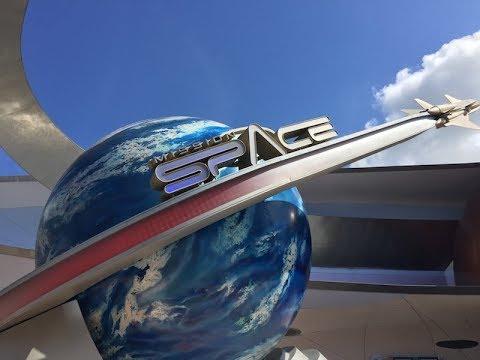 Astronaut simulator ride pictures at disney