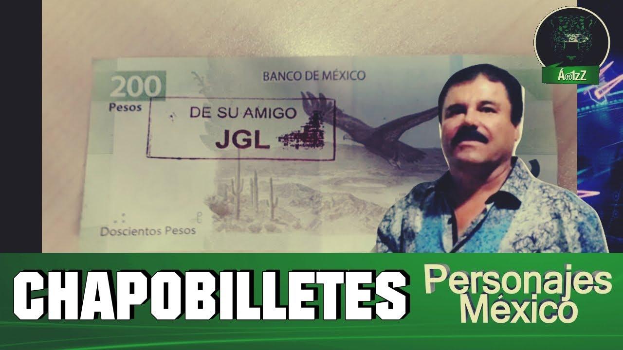 Chapobilletes de doscientos pesos en un cajero automático en Culiacán -  YouTube