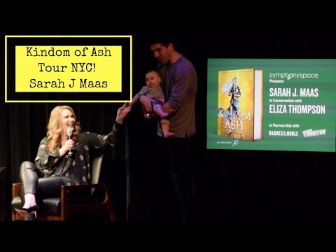 Sarah J. Maas Kingdom Of Ash Tour NYC Event Vlog!
