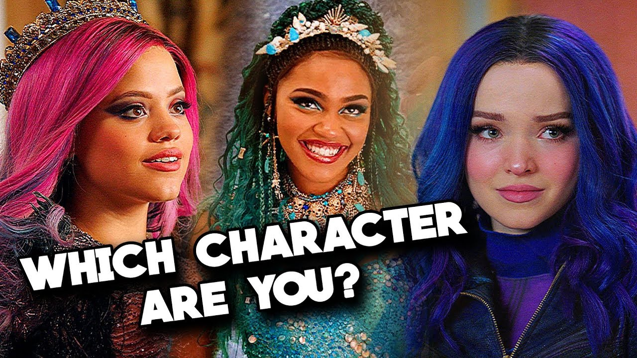 Which DESCENDANTS 3 Character Are You?