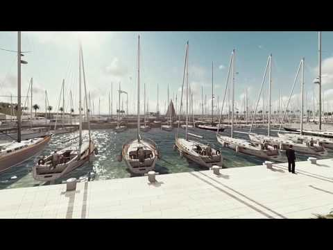 EcoBleu Cavalaire-sur-mer CORINTHE- port, plage et marina