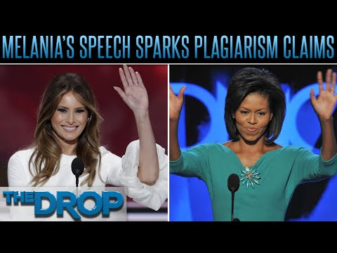 Melania Trump's Speech Rips Off Michelle Obama – The Drop Presented by ADD