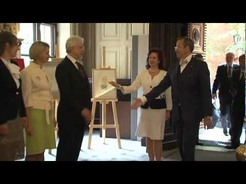 Saeimā viesojas Igaunijas Republikas prezidents Tomass Hendriks Ilvess