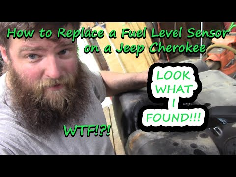 Jeep Cherokee XJ GAS GAUGE Not Working | How to Replace Fuel Level Sensor on your Fuel Pump Module!