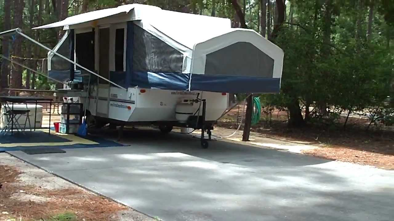 Flagstaff Pop Up Camper Rental Tour Disney Fort Wilderness