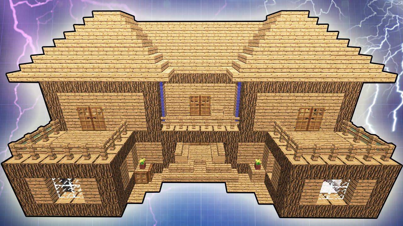 Как сделать гигантский дом