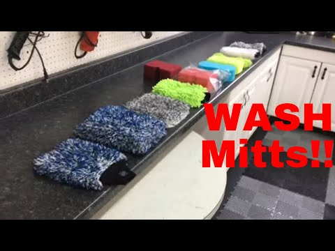 WASH MITTS!! Which Are The BEST? Let's Find Out!!