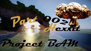Minecraft Hexxit - Project Bam - Farmen bis der Arzt kommt - Part 002 - German HD