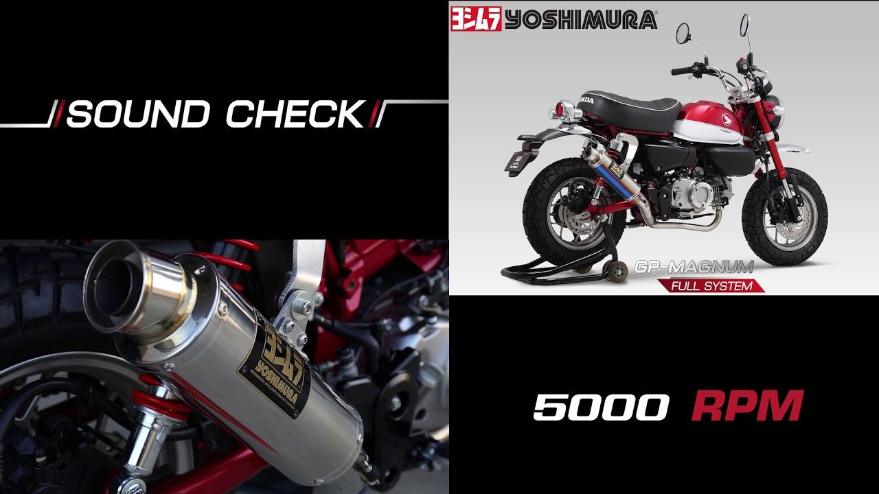 Yoshimura Sound Check Gp Magnum Full System For Monkey 125