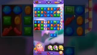 Candy Crush FRIENDS Saga level 156 no boosters