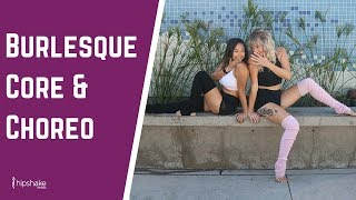 15 Minute Core Workout With Burlesque Dance Choreography