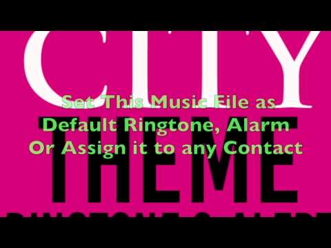 Sex and The City Theme Ringtone and Alert