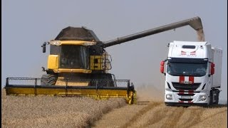 New Holland i Iveco. Logistyka zbioru zbóż - więcej w miesięczniku RPT 9/2015