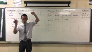 Geometrical Applications of Calculus (2 of 4: Increasing, Decreasing or Stationary Points)