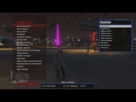 GTA 5 Revolution Script Salfety sPrx V2 9 MOD MENU + DOWNLOAD
