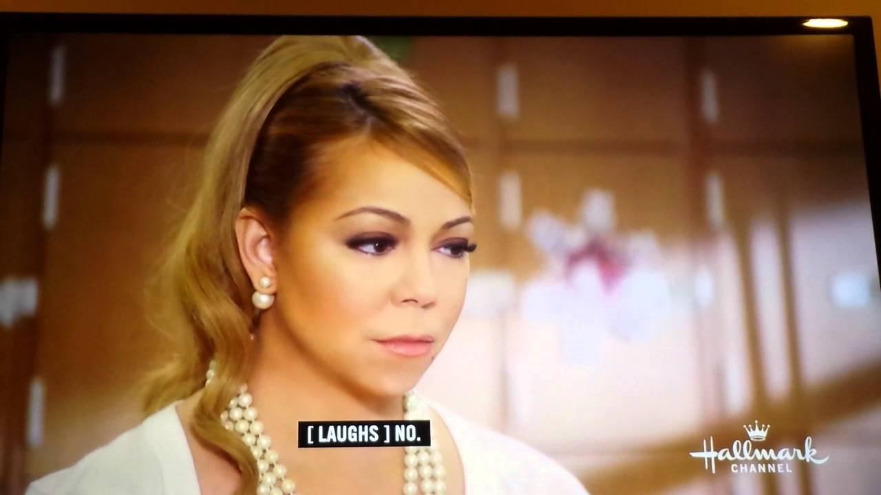 A Christmas Melody.Mariah Carey In A Christmas Melody