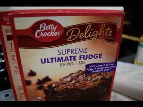 How To Make Betty Crockers Supreme Ultimate Fudge Brownies