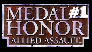 Medal Of Honor Allied Assault Mission 1 Walkthrough PC No Commentary
