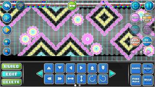 Geometry Dash ( Tutorial, como hacer un nivel estilo nine circles)