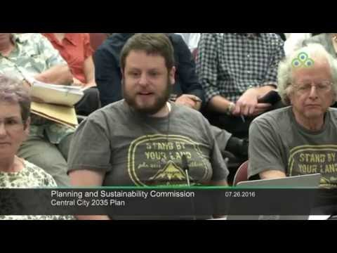 Planning and Sustainability Commission 7/26/16 Part 2