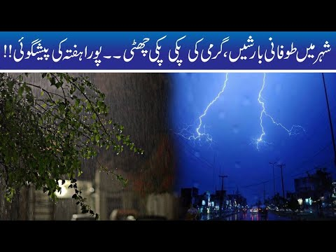 Super Weather After Rain In Faisalabad