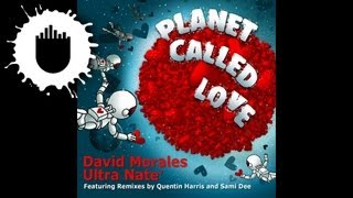David Morales & Ultra Nate - Planet Called Love (David Morales Club Mix) (Cover Art)
