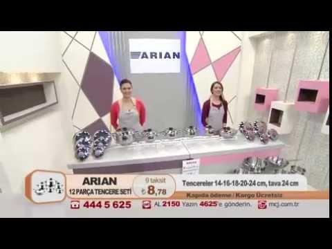 Hascevher Arian 12 Parça Tencere Seti